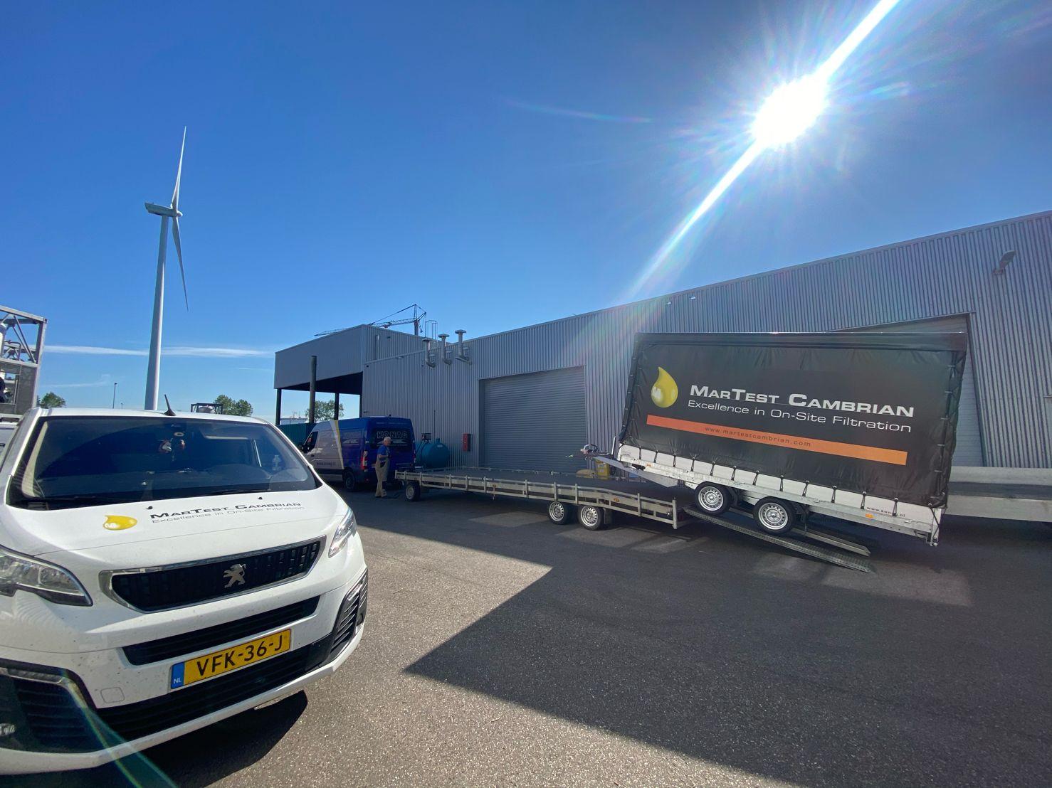 New custom build twin axle trailer