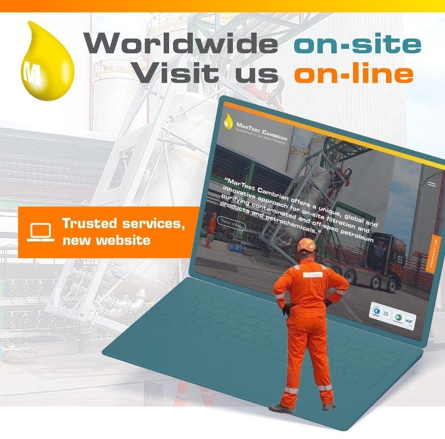 New interactive website!
