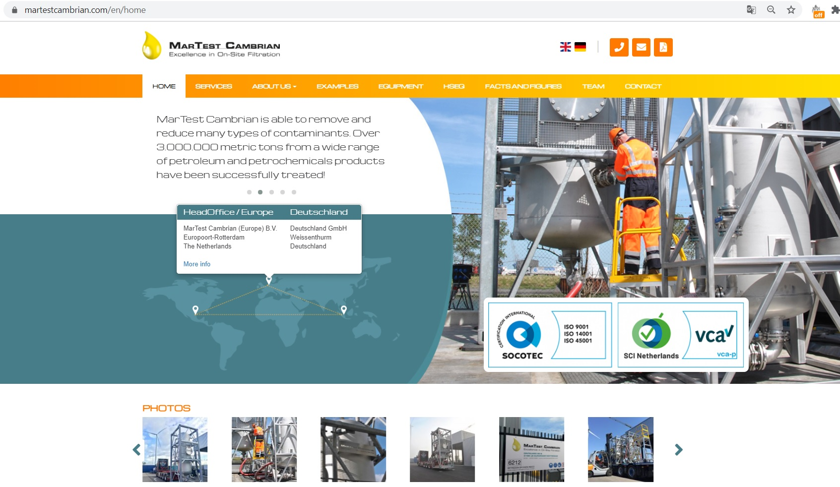 Launch new website and brochure